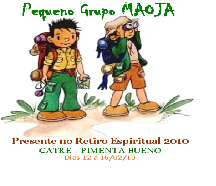 Pequeno Grupo MAOJA - GRANDES BENÇÃOS