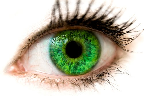 If you have green eyes,
