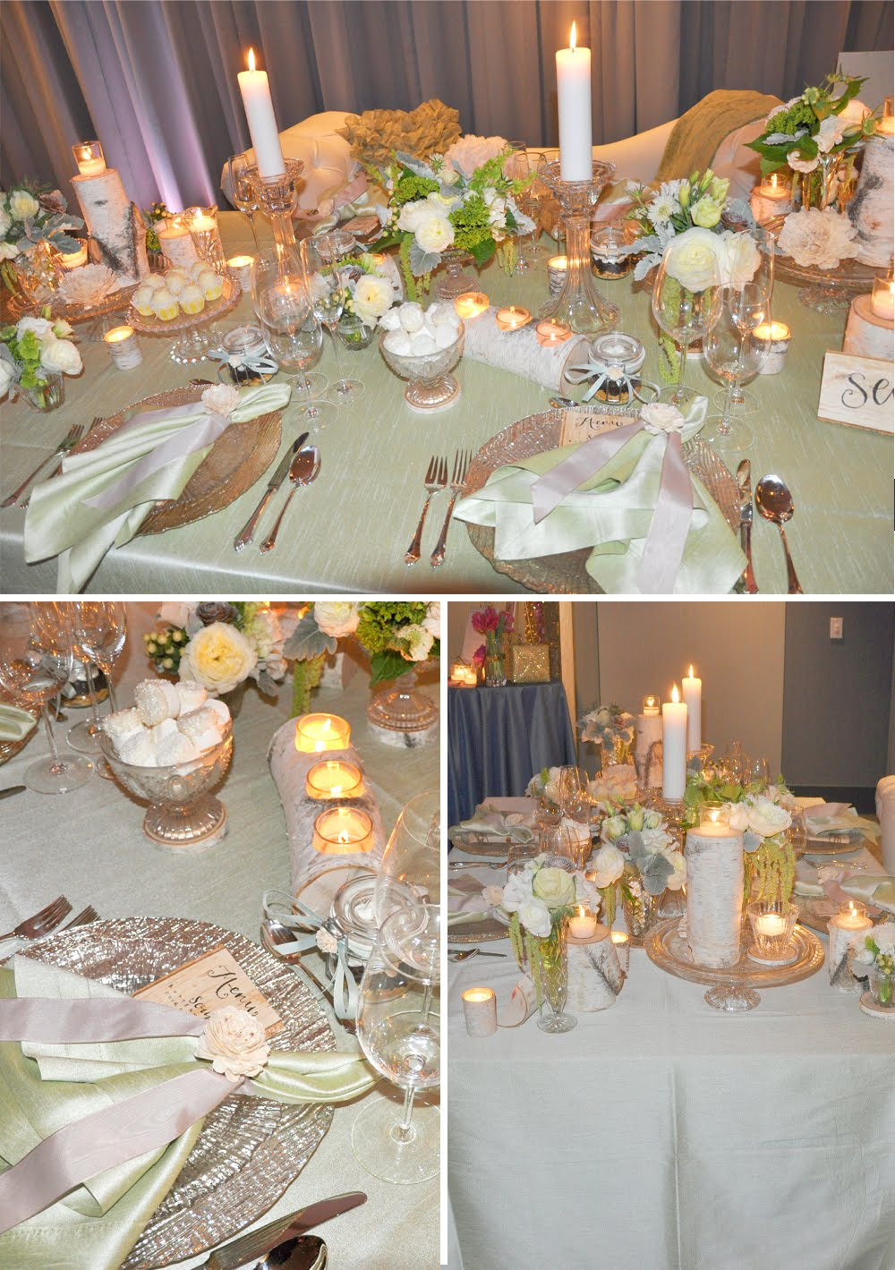 Enchanted events design utterly engaged 39 s snap for Table design for new year