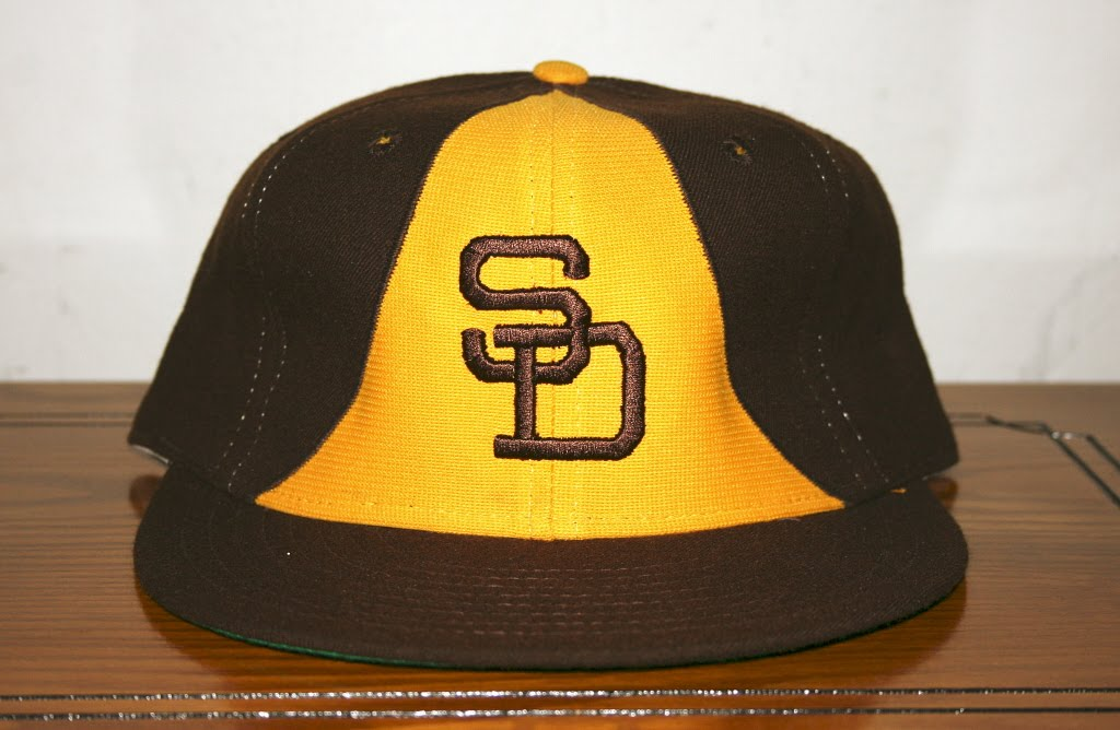 san diego padres cap 1984 the taco bell caps hat brown