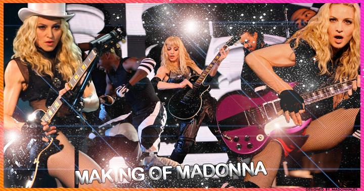 making-of madonna