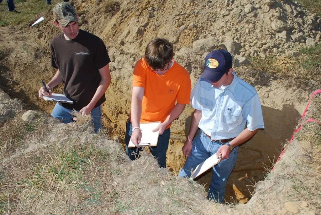 Winston county natural resources council wchs wins first for Soil judging