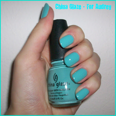 Swatch: China Glaze No.625 FOR AUDREY