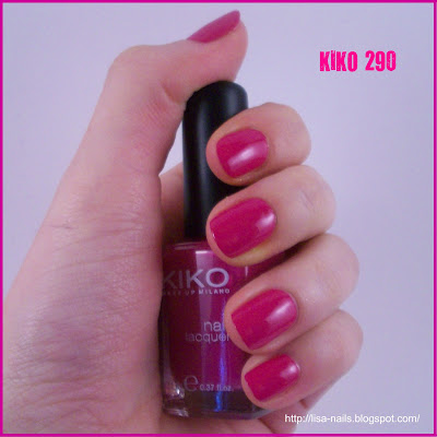 Swatch: KIKO No. 290