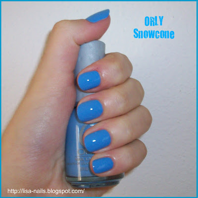Swatch: ORLY SNOWCONE
