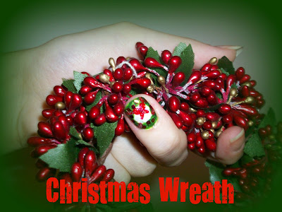 Christmas Nails | CHRISTMAS WREATH