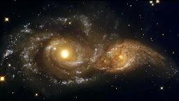Choque entre duas Galáxias