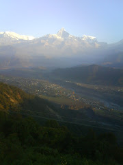 Machhapuchre View from sarankot