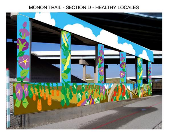 Monon Trail - Section D- Healthy Locales 4/22/08