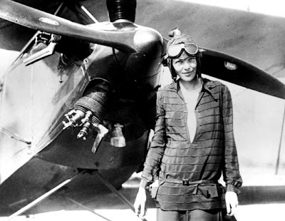 Amelia Earhart on Amelia Earhart Was So Hot