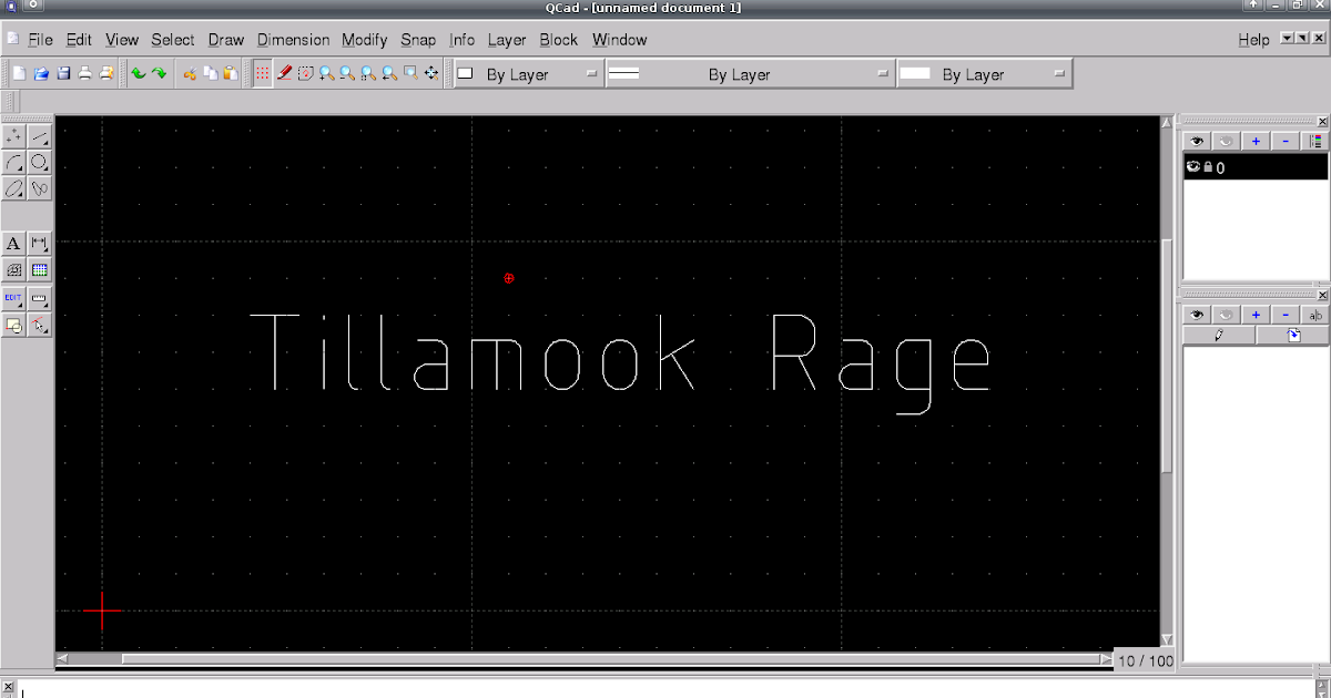 Tillamook Rage Cad And 3d Graphics Programs For Linux
