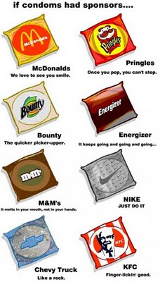 If condoms have sponsers