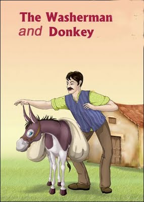 the washer man and the donkey, joke, funny