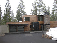 Front view of Faulkner Masterpiece in Martis Camp