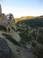 Image of the view from 5 Lakes Trail Alpine Meadows, CA