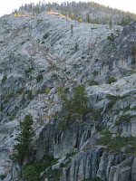 Image of granite cliffs