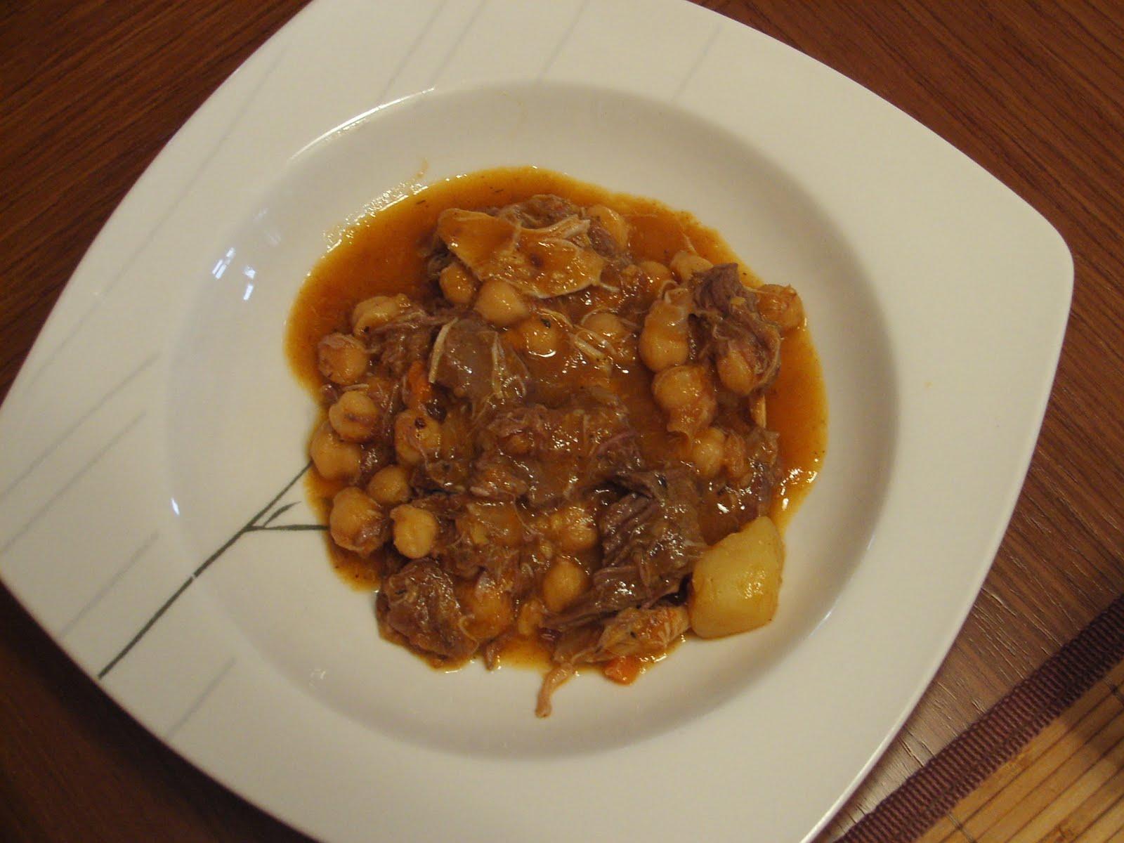 Cocinar sin sal cocido con costilla de ternera sin sal - Cocinar sin sal ...
