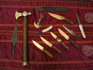 A's Collection of Myhill Blades
