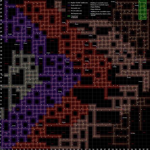 Dead Frontier Map