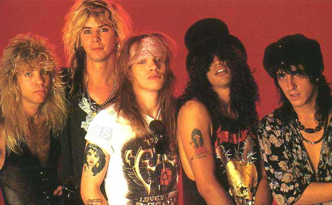 Guns N' Roses la Historia