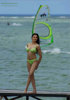 Indian Supermodels in Bikini