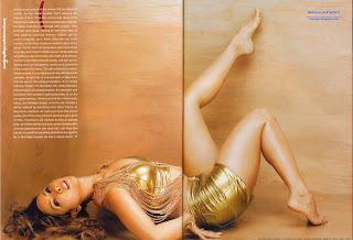 Hot and sexy bare foot Kim Sharma scan
