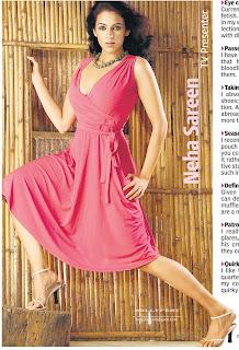 Indian TV actress Neha Sareen
