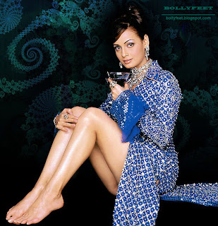Gorgeous Diya Mirza Bare Feet