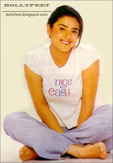 Rare scan of Preity Zinta