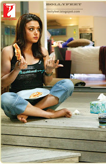 Preity from the movie Salaam Namaste