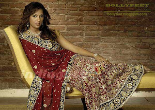 Brinda Parekh in Bridal dress