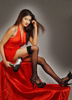 Indian fashion model Chandrika