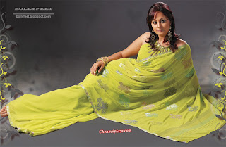 Indian saree Model