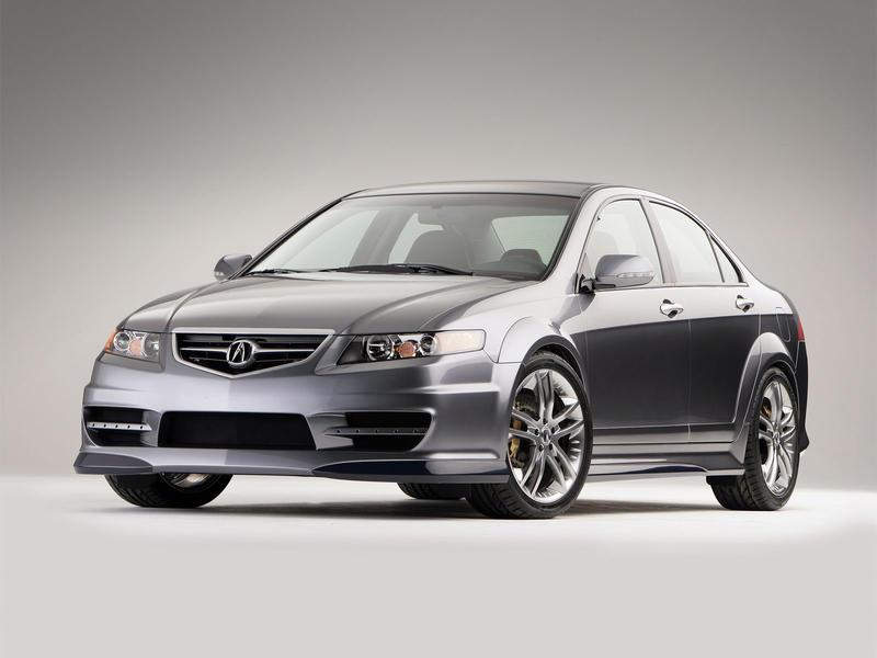 2005 Acura Tsx. 2005 Acura TSX A-SPEC Concept