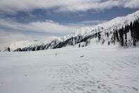 snow capped Gulmarg