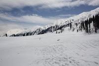 snow capped Gulmarg