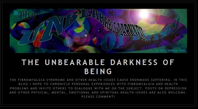 The Unbearable Darkness of Being