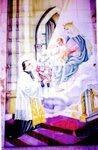 Imagen en Azulejos de San Marcelino Champagnat. Realizado en Valencia, España. Video Sucesores