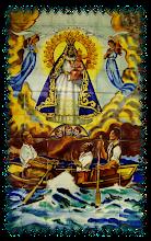 Imagen en Azulejos de las Virgen de la Caridad del Cobre Realizado en Valencia, España. Video