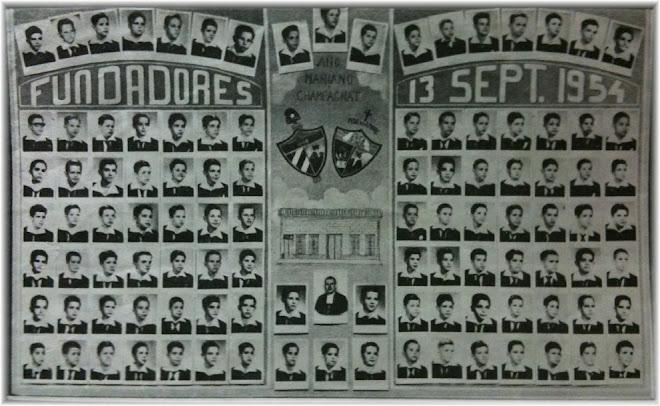 Fundadores Colegio Maristas de Holguin
