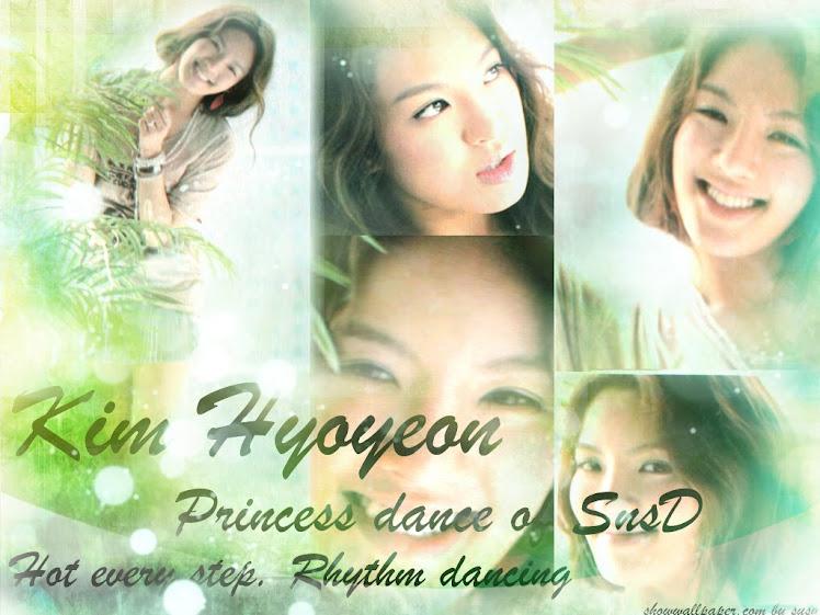SNSD Hyoyeon Wallpaper