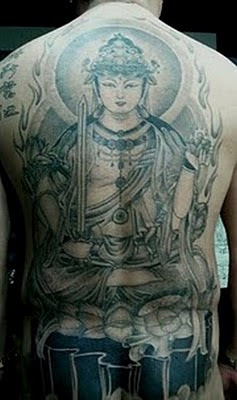 Big Buddha Tattoo Design