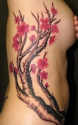 Tattoo Bunga Cherry
