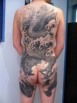 Tattoo Naga Jepang