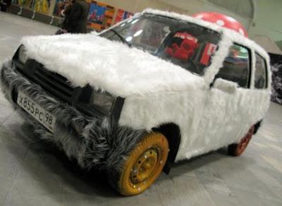 Modifikasi Mobil Model Orang Rusia