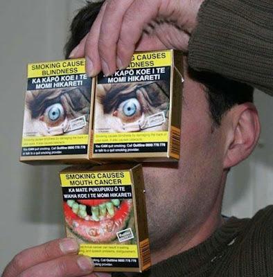 Foto Lucu Kampanye Anti Rokok