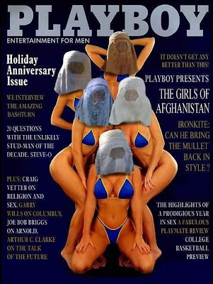 Foto Lucu Majalah Playboy Versi Afganistan