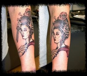 Tattoo Geisha Jepang - Japanese Geisha Tattoos