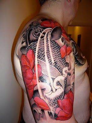 koi fish tattoo designs. Tattoo Ikan Koi - Koi Fish