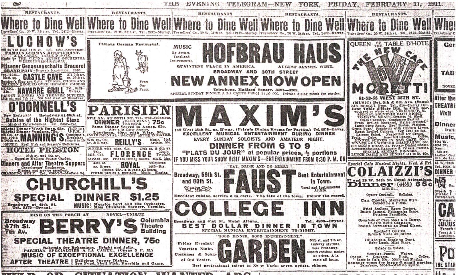 Paper advertising